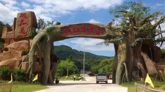 Taoxian River Scenic Spot Peach Blossom Island
