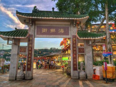 사이쿵 해산물 거리(Sai Kung Seafood Street)