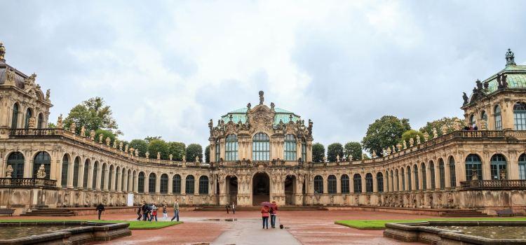 Dresdner Zwinger - Porzellansammlung