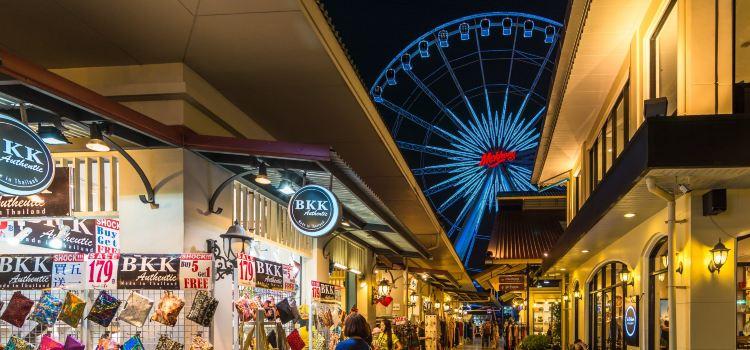 曼谷夜市摩天輪3