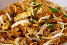 新加坡美食图片-炒粿条