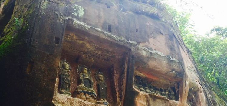 Tongnan Great Buddha Temple3