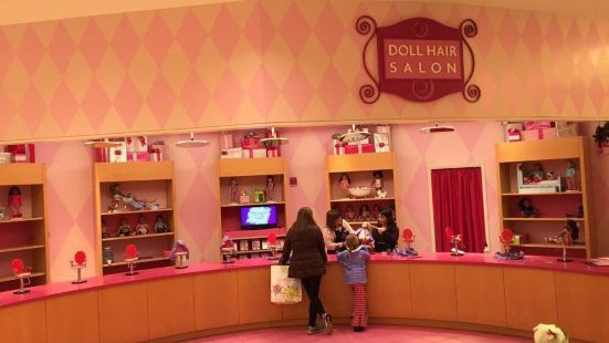 American Girl Place Chicago Cafe