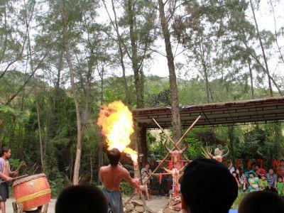 海南南坤民族風情旅遊區