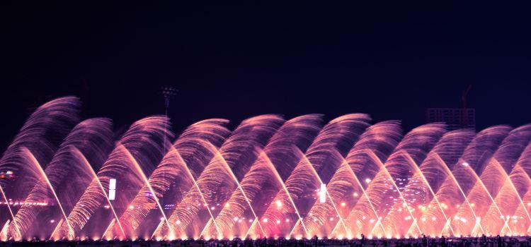 둥강음악분수광장