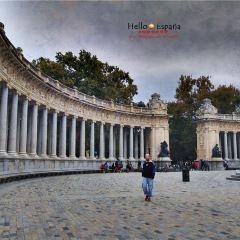 알폰소 13세 동상 여행 사진