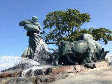盖费昂喷泉-哥本哈根-燕知窝