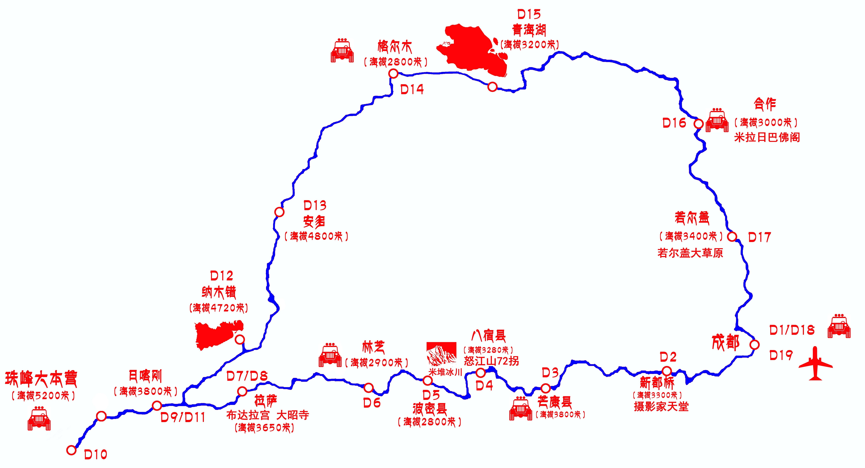 青海格尔木地图_格尔木地图高清版-青海格尔木地图全图|青海省旅游地图高清版 ...