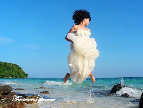 带着婚纱去旅行