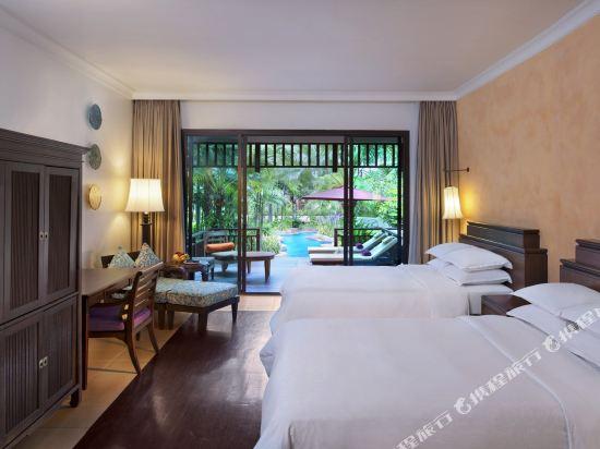 芭堤雅洲際度假酒店(InterContinental Pattaya Resort)池邊房