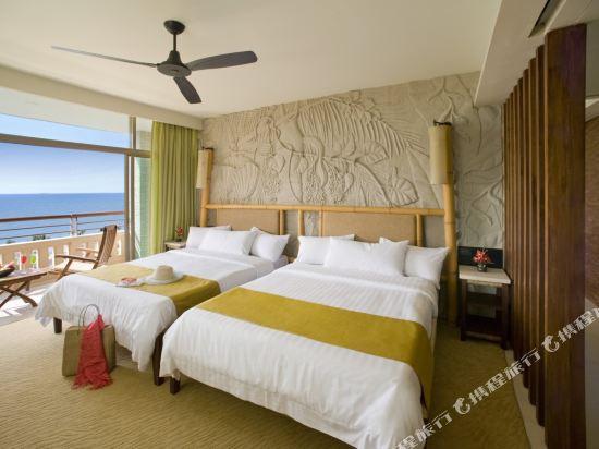 盛泰瀾幻影海灘度假村(Centara Grand Mirage Beach Resort Pattaya)豪華家庭面海房