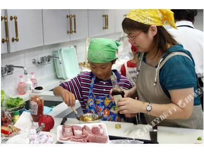 南海大阪輝盛國際公寓(Fraser Residence Nankai Osaka)餐廳