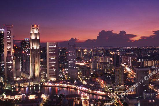 新加坡費爾蒙酒店(Fairmont Singapore)眺望遠景