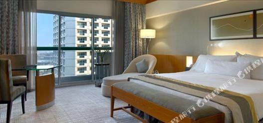 新加坡費爾蒙酒店(Fairmont Singapore)豪華房