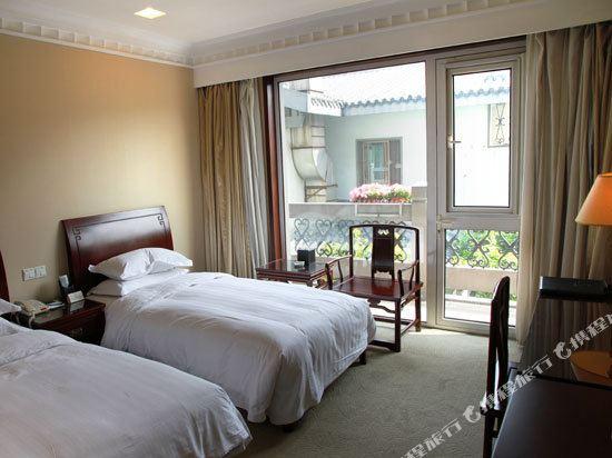 杭州大華飯店(Dahua Hotel)標準雙床房