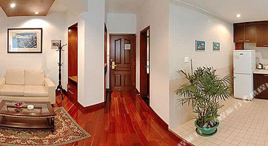 上海奕鄰66酒店(Ten66 Serviced Residences Supercity by Ariva)豪華套房(客廳)