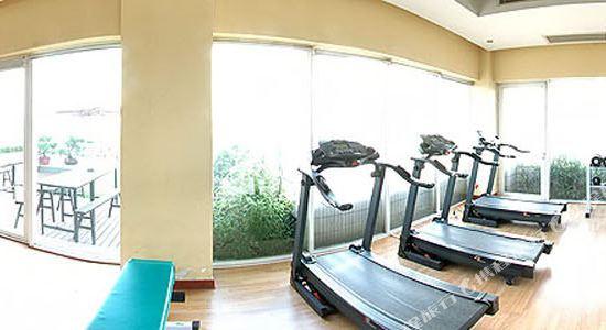 上海奕鄰66酒店(Ten66 Serviced Residences Supercity by Ariva)健身房
