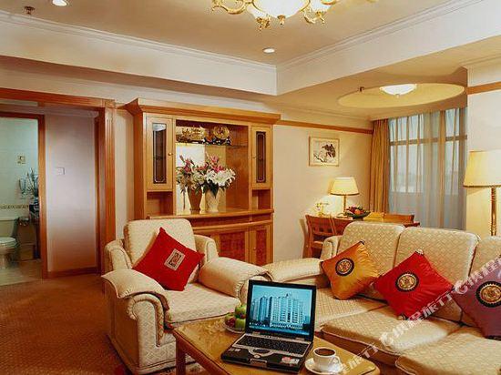 北京外國專家大廈(Foreign Experts Building)一室一廳公寓大床房