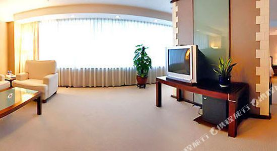 美豪麗致酒店(深圳福田會展中心店)(Mehood Lestie Hotel (Shenzhen Futian Convention and Exhibition Center))套房客廳