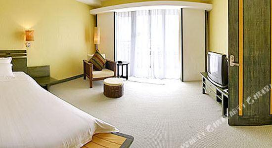 廣州長隆酒店(Chimelong Hotel)豪華套房卧室