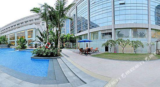 深圳博林聖海倫酒店(St.Helen Hotels)花園游泳池