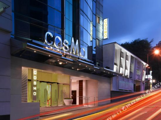 香港麗悅酒店(Cosmo Hotel)外觀