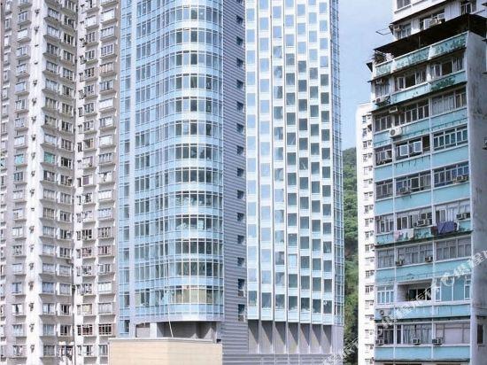 香港如心銅鑼灣海景酒店(L'hotel Causeway Bay Harbour View Hong Kong)外觀