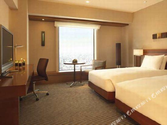 東京凱悅酒店(Hyatt Regency Tokyo)景觀雙床房