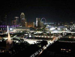 新加坡半島怡東酒店(Peninsula Excelsior Hotel Singapore)眺望遠景