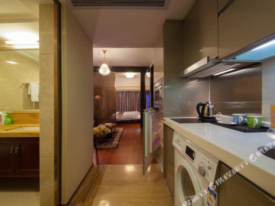 廣州臨江上品維福頓公寓(琶洲會展中心店)(Linjiang Shangpin Weifudun Apartment (Pazhou Complex))江景套房