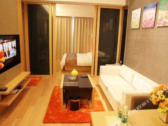 嘻哈商務公寓(廣州琶洲保利世貿店)(Hiphop Business Apartment (Guangzhou Pazhou Baoli Shimao))豪華江景套房