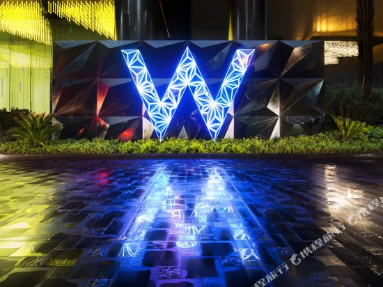 廣州W酒店(W Guangzhou)外觀