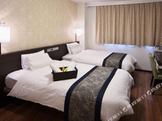 道頓堀酒店(Dotonbori Hotel)雙床房