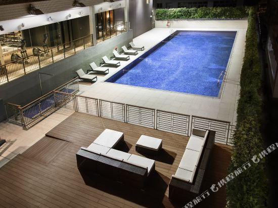 香港九龍貝爾特酒店(Pentahotel Hong Kong Kowloon)室外游泳池