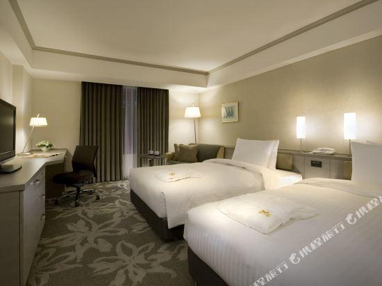 福岡日航酒店(Hotel Nikko Fukuoka)高級雙床房