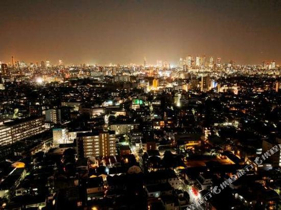 東京池袋大都會飯店(Hotel Metropolitan Tokyo Ikebukuro)眺望遠景