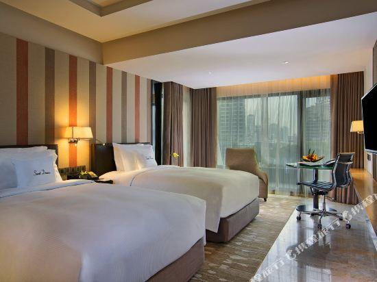 曼谷素坤逸希爾頓逸林酒店(DoubleTree by Hilton Sukhumvit Bangkok)高級客房