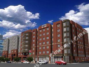 錫拉丘茲市中心阿莫瑞廣場萬怡酒店(Courtyard Syracuse Downtown at Armory Square)