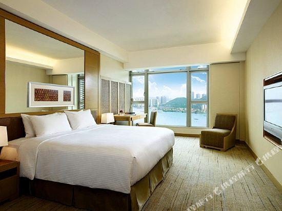 香港帝景酒店(Royal View Hotel)豪華海景房