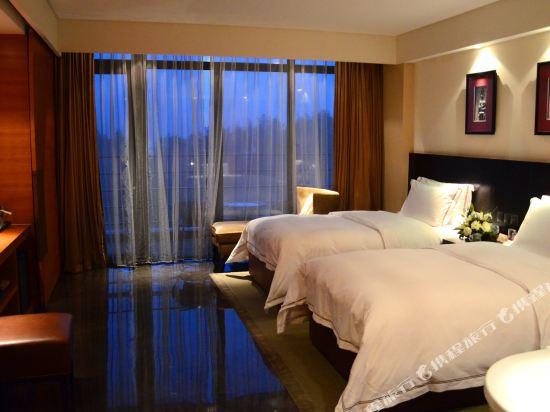 溧陽涵田度假村酒店(Hentique Resort & Spa)湖景雙床房