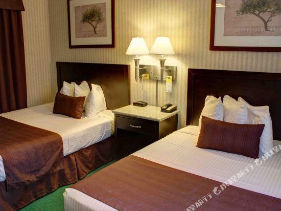 温德姆華麥德龍戴斯酒店(Days Inn by Wyndham Vancouver Metro)標準雙大床房