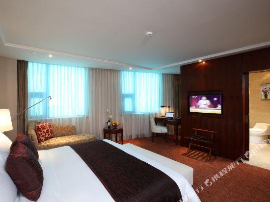 北京中樂六星酒店(Zhongle Six Star Hotel)豪華大床房