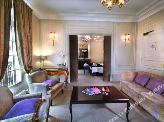 巴黎香謝麗舍廣場酒店(Hotel Champs Elysees Plaza Paris)尊貴套房1