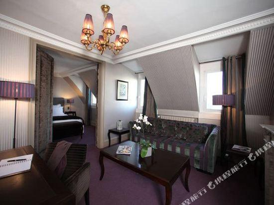 巴黎香謝麗舍廣場酒店(Hotel Champs Elysees Plaza Paris)豪華套房1