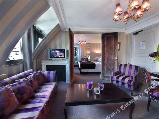 巴黎香謝麗舍廣場酒店(Hotel Champs Elysees Plaza Paris)豪華套房3
