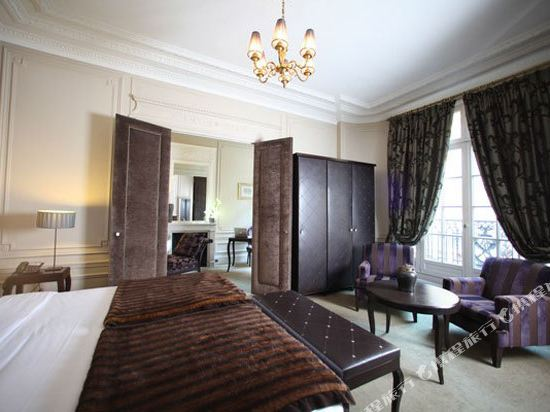 巴黎香謝麗舍廣場酒店(Hotel Champs Elysees Plaza Paris)豪華套房2