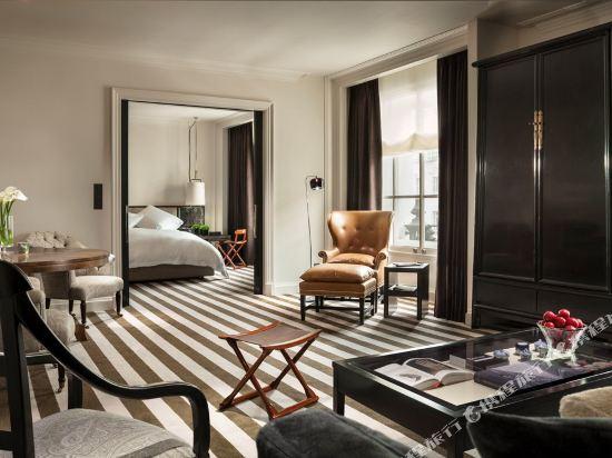 倫敦瑰麗酒店(Rosewood London)豪華套房2