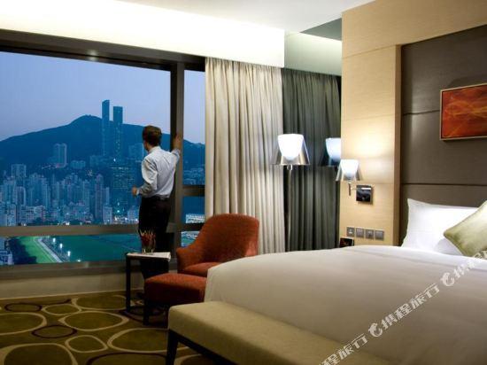 香港銅鑼灣皇冠假日酒店(Crowne Plaza Hong Kong Causeway Bay)馬場景房
