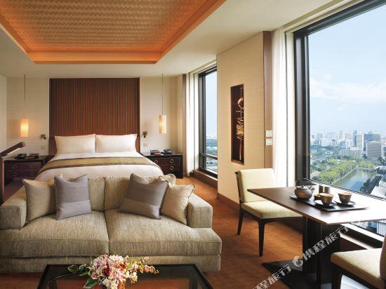 東京半島酒店(The Peninsula Tokyo)豪華園景房
