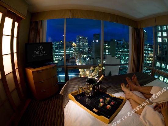 温哥華市中心萬豪德爾塔酒店(Delta Hotels by Marriott Vancouver Downtown Suites)公共區域